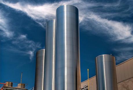 dairy-silos